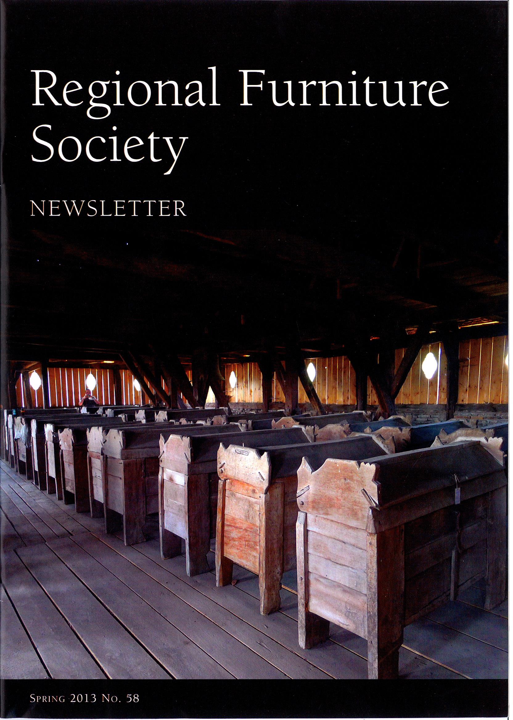 ... RFS Newsletter Spring 2013 1
