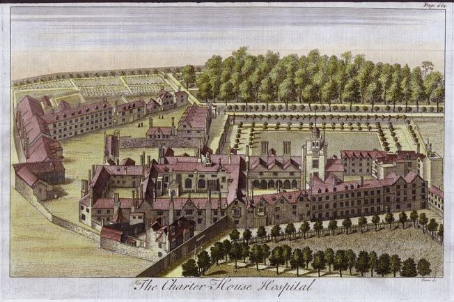 Charterhouse_Hospital,_engraved_by_Toms,_c.1770.