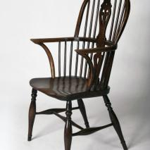 A 19th century bow-back Thames Valley armchair. © Geffrye Museum, London: Photograph by Morley von Sternberg