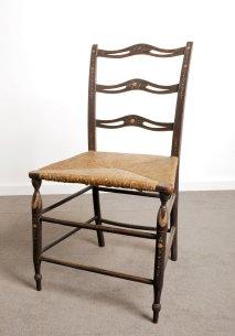 Figure 2 Treacher type splat back chair.