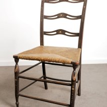Figure 2 Treacher type splat back chair.
