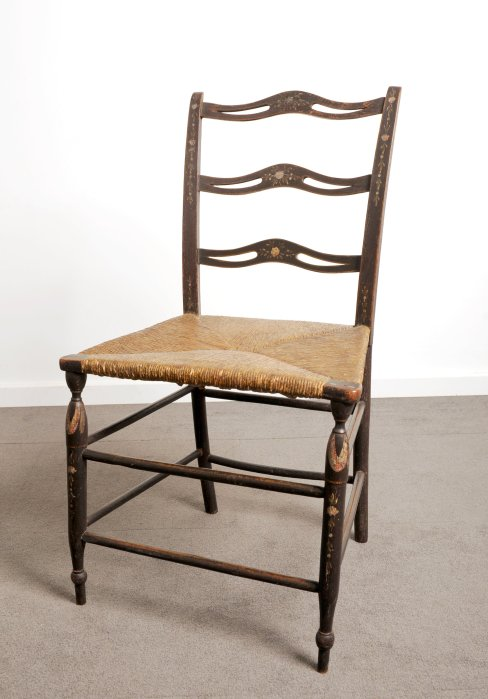 Fig.2 Treacher type splat back chair.